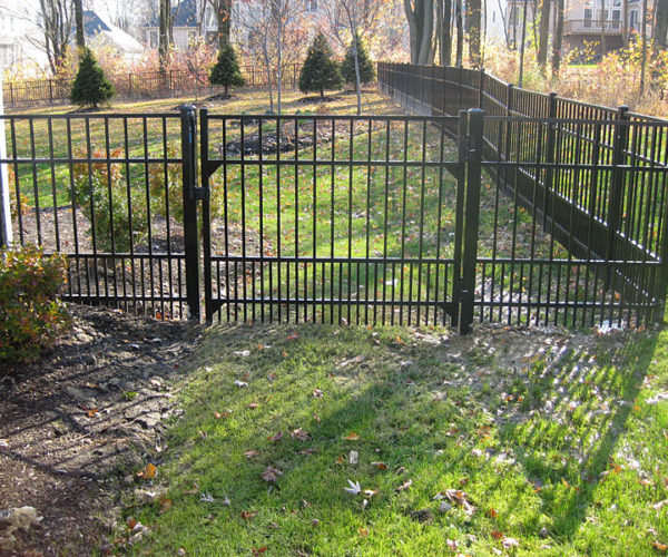 Aluminum Pet Fence w/ Gate