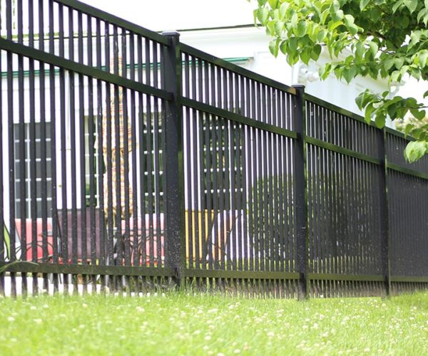 Commercial Grade Pool Fence at Residence