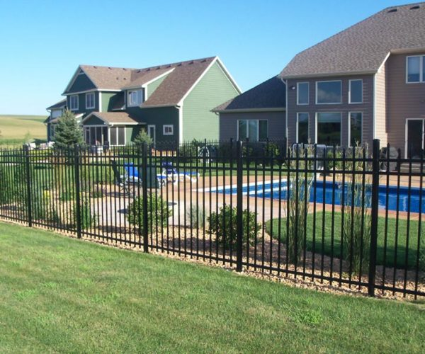 Commercial Aluminum Fence
