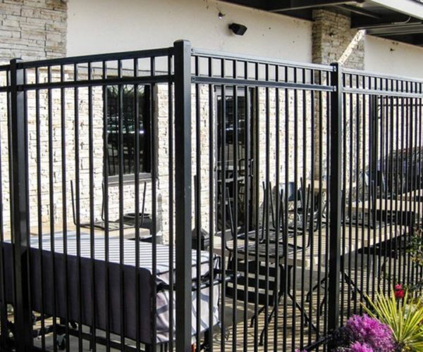 Commercial Steel Restaurant Enclosure