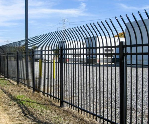 commercial grade steel fence