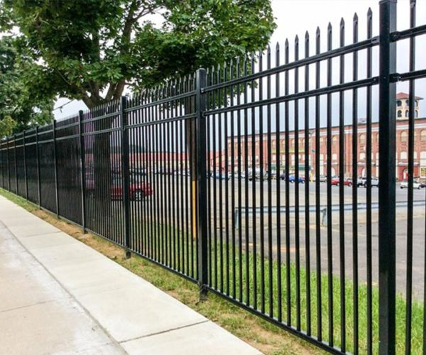 Commercial Steel Parkingl Lot Fence
