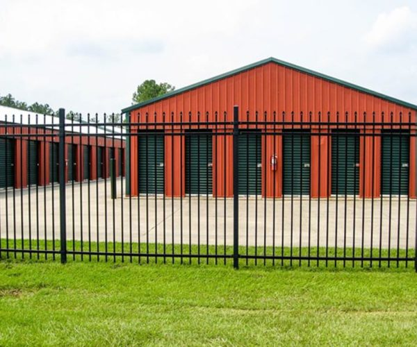 Commercial Steel Security Fence