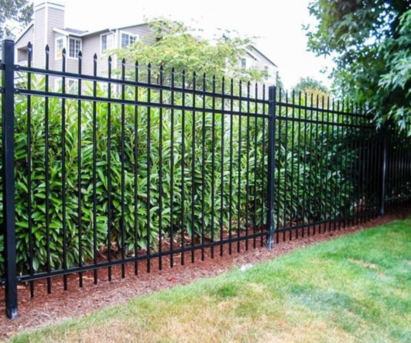 6 ft steel fence