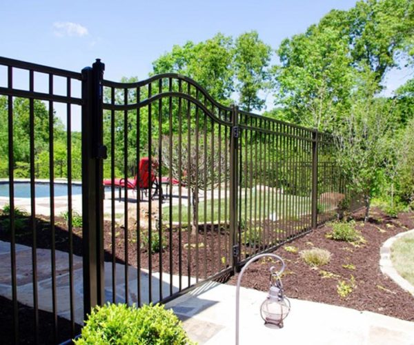 Residential Steel Pool Fence