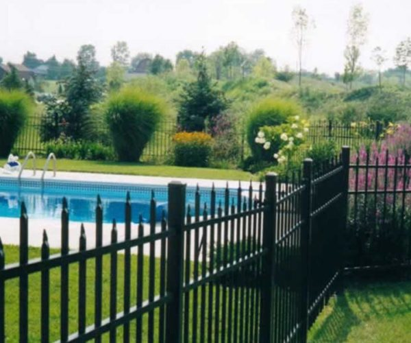 Commercial Grade Aluminum Pool Fence
