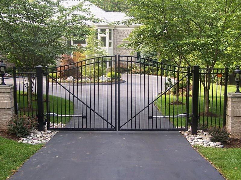 Residential Aluminum Swing Gate 2