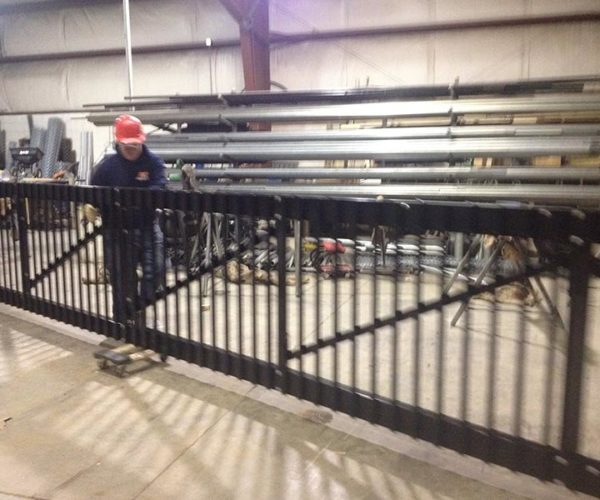 Custom Made Aluminum Gate.