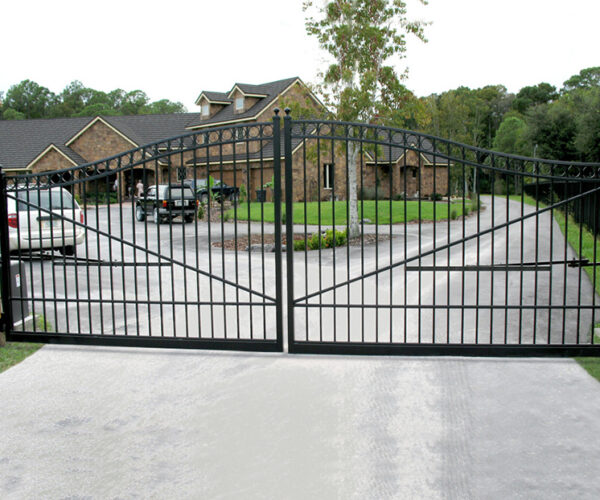 Aluminum Double Estate SwingGate