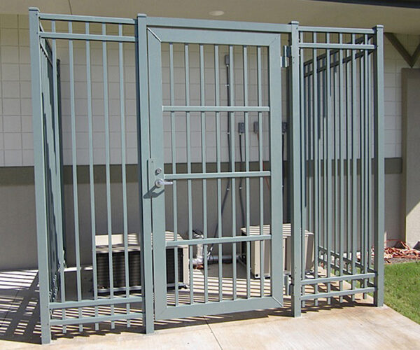 Commecial Aluminum Gate