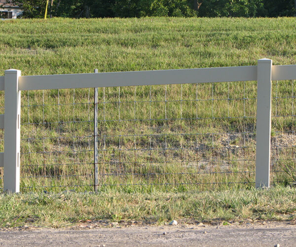 Commercial Vinyl Split Rail