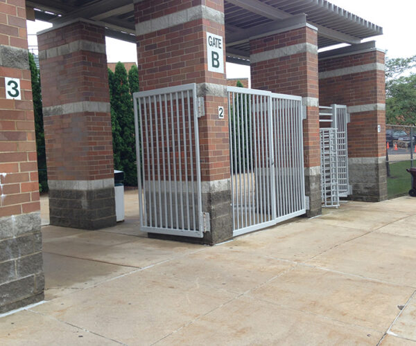 Custom Stadium Gates