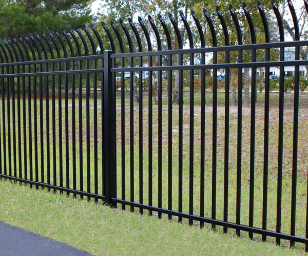 Industrial Grade Aluminum Security Fencing