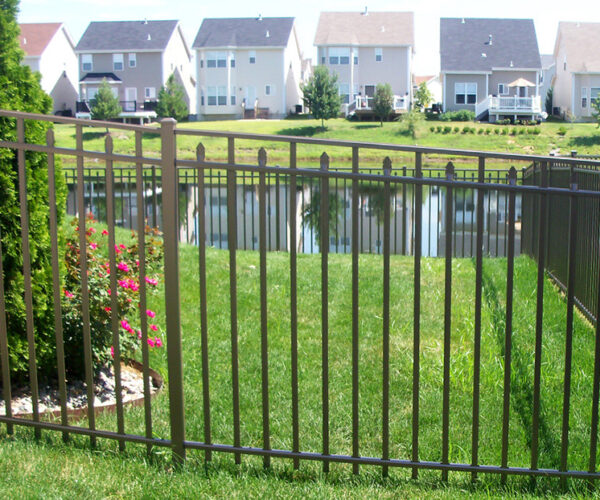 Light Bronze Windham Aluminum Fencing