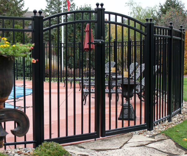Rainbow Arched Double Gate